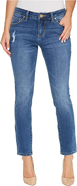 Mera Skinny Ankle Platinum Denim in Mineral Wash