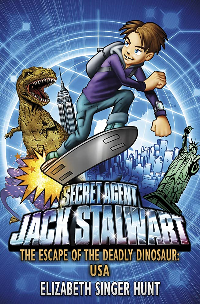 鎖クロール服を片付けるJack Stalwart: The Escape of the Deadly Dinosaur: USA: Book 1 (English Edition)