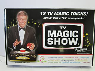 Nowstalgic Toys Marshall Brodien's TV Magic Show Set- Magic Cards, Tricks, Squirmles, Plus More!