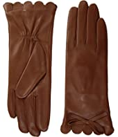 Kate Spade New York - Scallop Leather Gloves