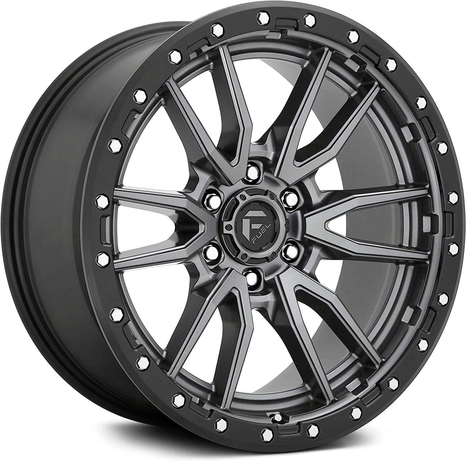 Fuel Offroad D680 REBEL GUN METAL TPMS and with trust Painted Oakland Mall Wheel Co
