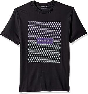 Calvin Klein Men's Short Sleeve Gradient Crew Neck T-Shirt