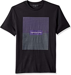 gradient denim shirt