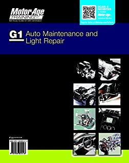 By Motor Age Staff ASE G1 Study Guide - Auto Maintenance and Light Repair (Motor Age Training) [Paperback]