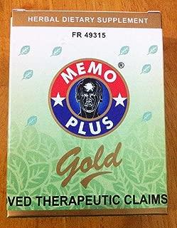3 Memo Plus Gold 90caps