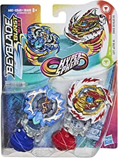 BEYBLADE Burst Rise Hypersphere Dual Pack Erase Devolos D5 and Left Astro A5 -- 2 Left-Spin Battling Top Toys, Ages 8 and Up