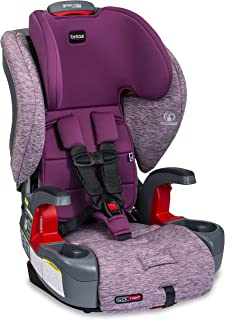Britax Grow with You ClickTight Harness-2-Booster Car Seat | 2 Layer Impact Protection - 25 to 120 Pounds, Mulberry [New Version of Frontier]