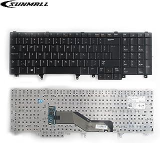 SUNMALL Replacement Keyboard for Dell Latitude E5520 E5520m E5530 E6520 E6530 E6540 Precision M4600 M4700 M6600 M6700 Lapt...