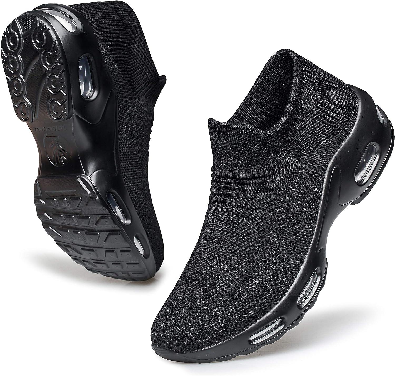 Over item handling Raoendis Women's Running Shoes - Cushion Walking Air Mail order Sock