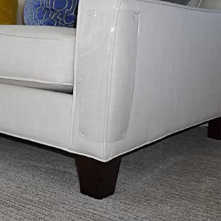 Furniture Defender is How to Love Your Pet by Protecting Your Upholstered Furniture - Stops Damage from Scratching Cats - 2 Guards Per Package. Made in USA.