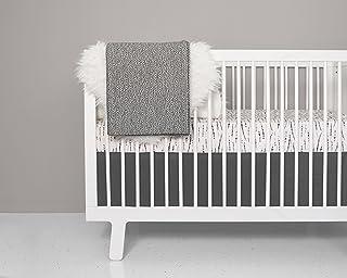 Crib Bedding Set - Feather Blush Design