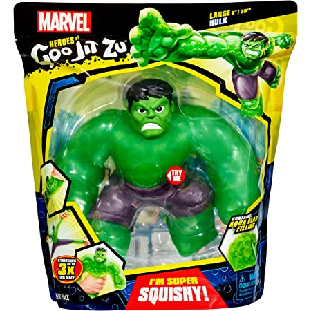 Heroes Of Goo Jit Zu Coffret sous licence officielle héros Marvel Supagoo - Hulk