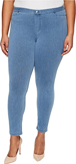 HUE Plus Size Super Smooth Denim Leggings