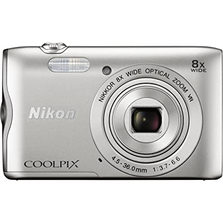 Nikon デジタルカメラ COOLPIX A300 光学8倍ズーム 2005万画素 シルバー A300SL