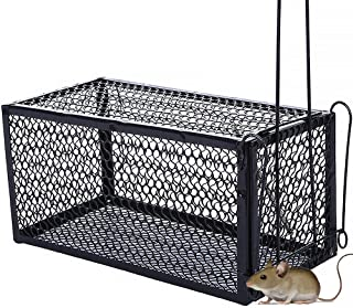 Mouse Trap, Catch And Release Cage For Rodents Indoors (size Medium)