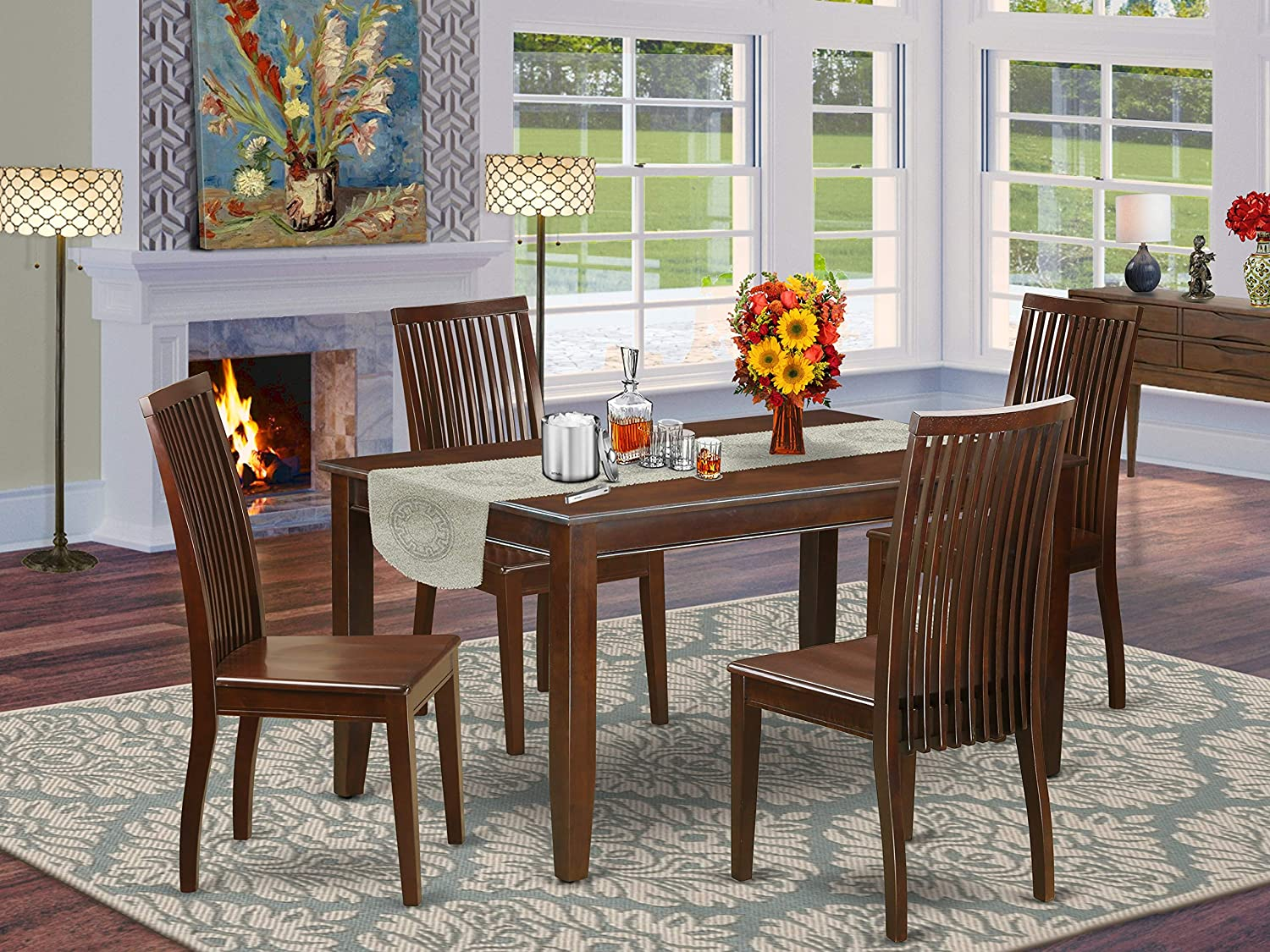 Super Special SALE held 5-Piece dinette set- -Table and chairs room 5 popular dining 4