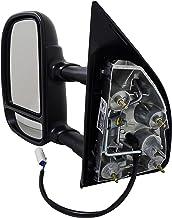 Dorman 955-363 Driver Side Power Door Mirror - Folding for Select Ford Models, Black