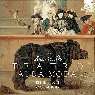 アントニオ・ヴィヴァルディ : 作品集 ~ ヴァイオリン協奏曲 他 (Antonio Vivaldi : Teatro Alla Moda / Gli Incogniti | Amandine Beyer) [輸入盤] [日本語帯・解説付]