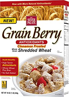 Grain Berry Cinnamon Frosted Shredded, 16 Ounce