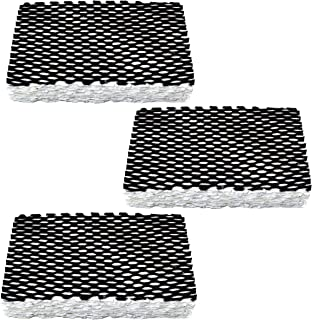 HQRP 3-Pack Wick Filter for Holmes HWF23CS / HWF23 Filter F Replacement fits HM1200, HM1250, HM1206, HM1200TPK, HM1200TPK1 Humidifiers Coaster