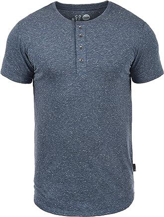 !Solid Thai T-Shirt À Manches Courtes Chemise pour Homme Tunisien 100% Coton
