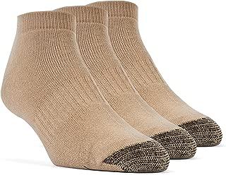 YolBer Women's Cotton Super Soft Low Cut Cushion Socks - 3 Pairs