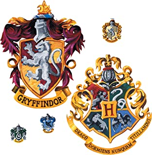 RoomMates Harry Potter Crest Peel and Stick Giant Wall Decal