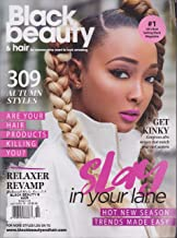 Black Beauty & Hair Magazine October November 2018