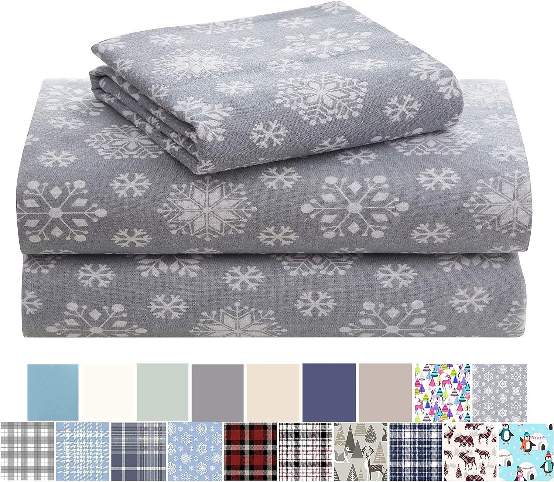 Morgan Home Cotton Turkish Flannel - 100% セール開催中最短即日発送 Fashions Brushe 定番 Sheets