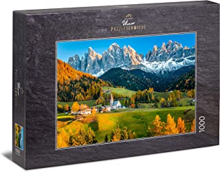 PUZZLE RAVENSBURGER 1500PZ SANTA MADDALENA   DOLOMITI  ART 16269