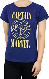 Marvel Captain Womens T-Shirt
