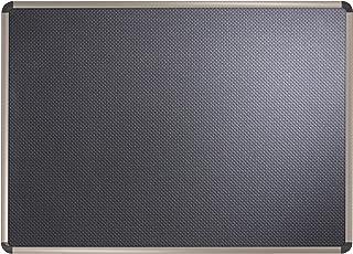لوحة إعلانات إسفنجية منقوشة باللون الأسود الأوروبي من شركة برستيج من Quartet Prestige مقاس 45.72 سم × 60.96 سم، إطار بلمسة...