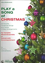 Play a Song of Christmas 35 favorite christmas songs and carols in easy arrangements for Variable Mixed Ensemble or band or orchestra: Viola Parts A and C