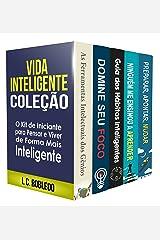 Vida Inteligente: Coleção (Livros 1-5): O Kit de Iniciante para Pensar e Viver de Forma Mais Inteligente (Domine Sua Mente, Transforme Sua Vida) eBook Kindle