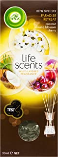 Air Wick Life Scents Reed Oil Diffuser, Paradise Retreat Refill, 30ml
