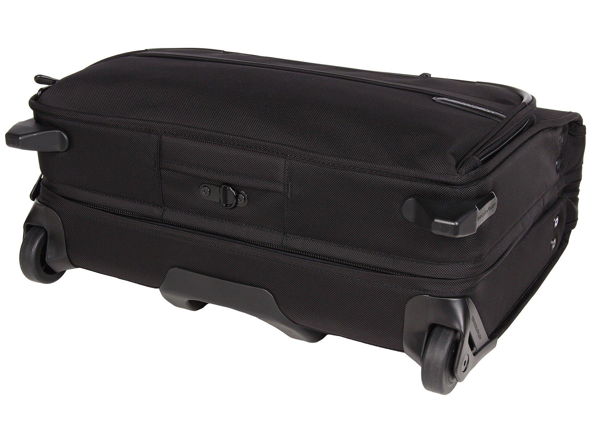 Carry Riley Bag 2 amp; on Baseline Wheeled Briggs Garment Black aftqwxFx