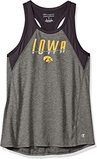 NCAA Iowa Hawkeyes Womens NCAA Women's School Spirit Tank Top Teechampion NCAA Women's School Spirit Tank Top Tee, True Bl...