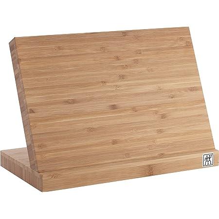 ZWILLING Bloc de Couteaux Magnétique pour un Set Complet, Bambou, 16,5 x 30 x 20,8 cm