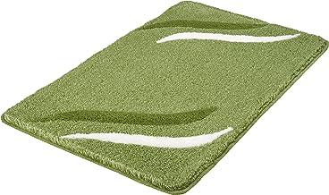 """Kleine Wolke"""" Florenz Bath Rug, Acrylic, Green, 60 x 100 x 2 cm"""