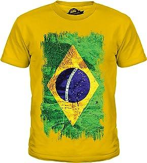 Drapeau Adulte Shirt Brésil Brésilien Femmes Unisexe Hommes T tBhQrxsdCo