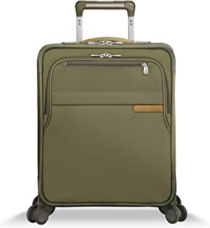 Briggs & Riley Baseline International Carry-on Expanadable Wide-Body Spinner, Olive (Green) - U121CXSPW-7