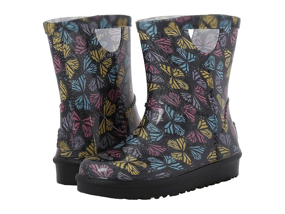 UGG Kids Rahjee Butterflies (Toddler/Little Kid) (Black Multi) Girls Shoes