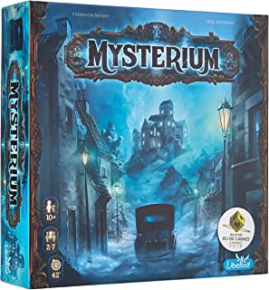 Asmodée – LIBMYST01FR – Mysterium – Games of Mysteries