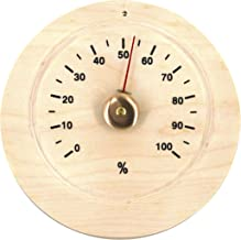 ALEKO WJ01 Hygrometer for Sauna Handcrafted from Finnish Pine