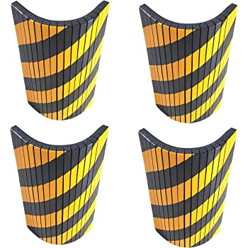 inodore. Paraspigoli per colonna garage .Protezione in polietilene alta densit/à angolare,100cm per colonne di box auto,parcheggi e garage Applicazione con biadesivo Tesa.Riciclabile atossico