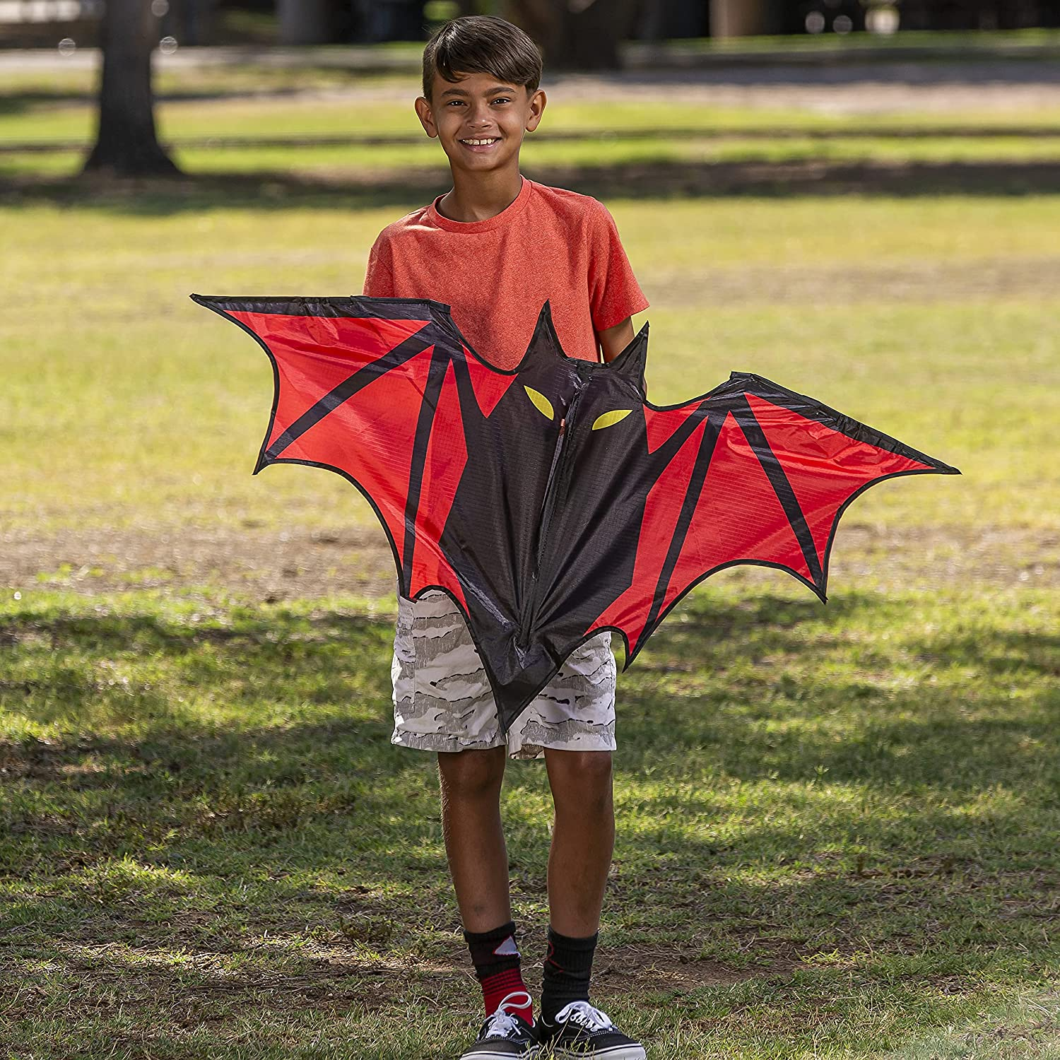 JOYIN Bat Inventory cleanup selling sale Kite Easy to Large-scale sale Fly Huge with Kids for and 26 Adults