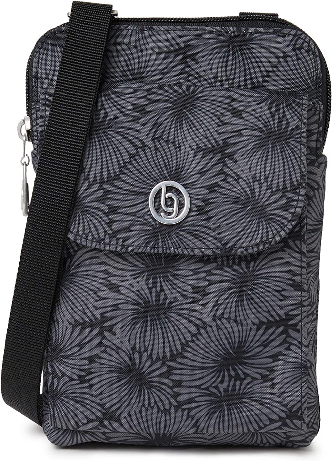 Baggallini San Diego Mini Crossbody – Lightweight, Water-Resistant with Adjustable Strap and RFID Protection, Stylish Design