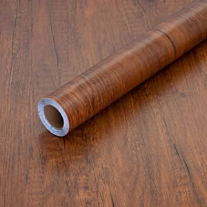 Peel and Stick Wood Grain Contact Paper 17.71
