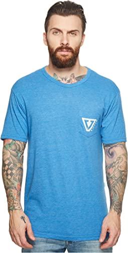 VISSLA - Established Tri-Blend Pocket T-Shirt Top