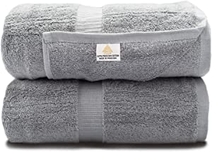 Zenith Luxury Bath Sheets Set - Bath Towel Extra Large 40X70 Inch, 600 GSM, Oversized Bath Towel, Bath Sheets ,100% Cotton